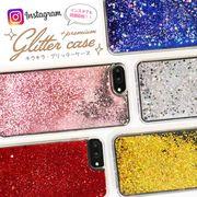 DIY キラキラ 動く グリッター iPhone 7 ケース スマホケース