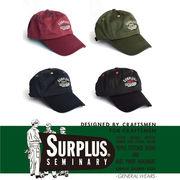 【2017AW新作】『SURPLUS』コットンツイル ロゴ刺繍入り フルフェイスキャップ