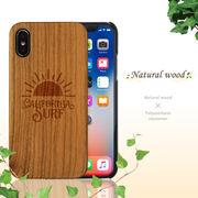 iPhone ケース ウッドケース 天然 木製 彫刻 デザイン