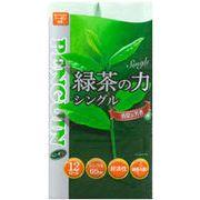 【送料無料/緑茶ロールシングル】トイレットペーパー72ロール 緑茶の力12R 65mシングル x 6