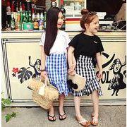 ★新品★★キッズセット★★カジュアル★シャツ+スカート 2点セット(90cm-150cm)