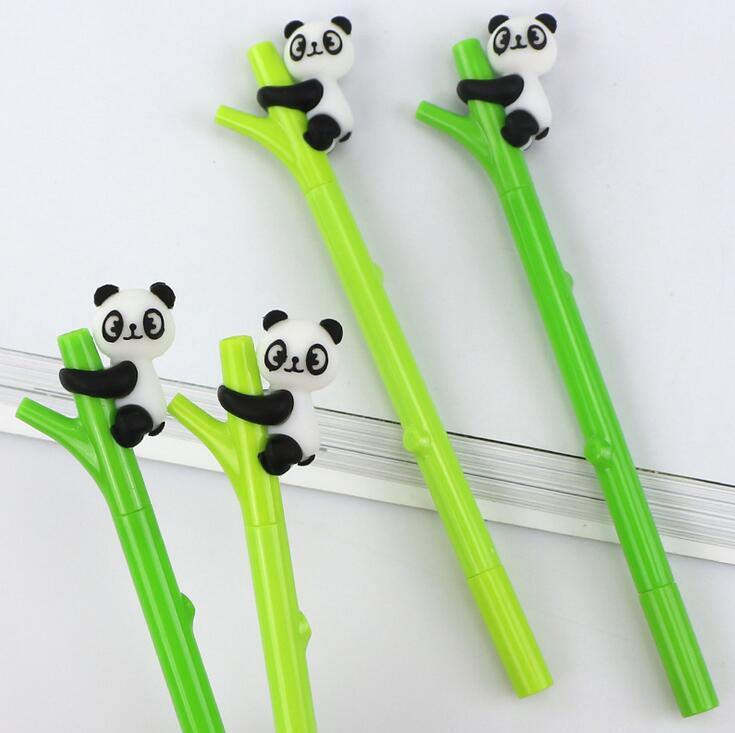 パンダ型ボールペン 水性サインペン 可愛い