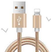 1.0m iPhone用 ケーブル 急速充電 データ転送 USB コード アルミニウム合金コネクタ 激安