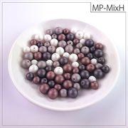 マットパールトライアル[MixH] お試しパック rikiビーズ つや消し アクリルビーズ