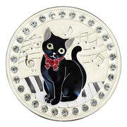 コンパクトミラー(黒猫)
