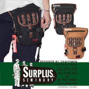 【2018SS新作】『SURPLUS』コットンキャンバス レッグバッグ
