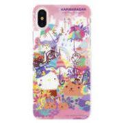 カピバラさん×ホラグチカヨ iPhoneX対応 ハードケース フラワー MKH-05A