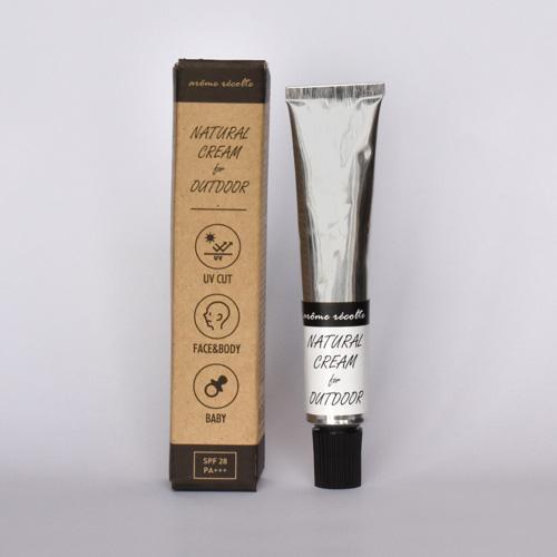 arome recolte ナチュラルアウトドアクリーム natural cream for outdoor アロマレコルト