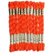 [12カセ入り]DMC コットンパール刺繍糸 5番手 608 DMC115-5B #608