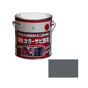 アサヒペン カラーサビ鉄用 0.7L グレー(ねずみ色)×5セット