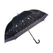 【55cm】晴雨兼用 UVカット率99%以上 深張ジャンプ式 シルバ-コーティング