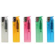 【名入れ可能】フロリダラメ 半スライド式電子ライター