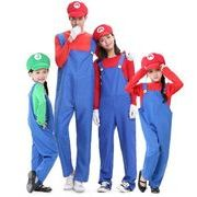 ハロウィン衣装 子供/大人 家族お揃い 5点セット 2色 仮装 コスチューム