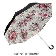 <AMANO>【折畳み傘】名画シリーズ・2重折たたみ傘9種