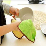 食器洗い布巾 キッチンタオル 食器用雑巾 ダスター 掃除用品 クリーニングツール 台拭き 両面吸水