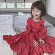 ★秋物★韓国風★キッズ服 ★可愛いキッズ服★ワンピース タグ7-タグ15