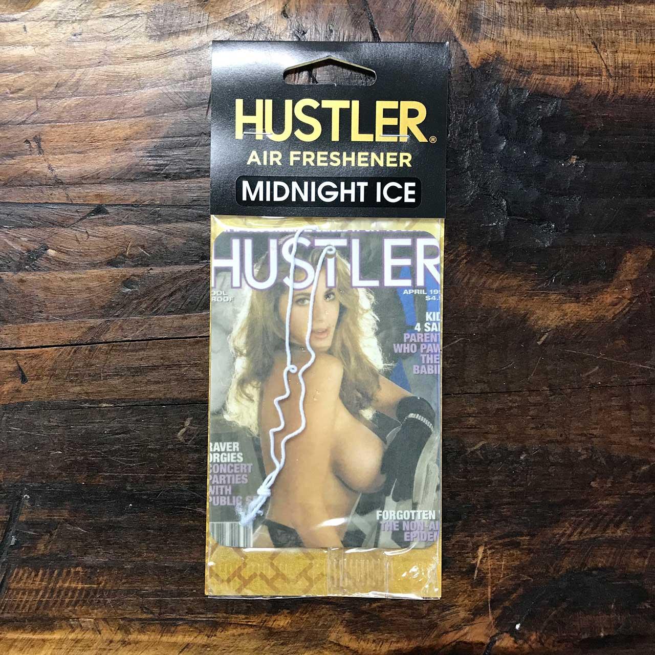 HUSTLERセクシーガールエアフレッシュナー・芳香剤・ミッドナイトアイス(ブラックアイス風)1994-04