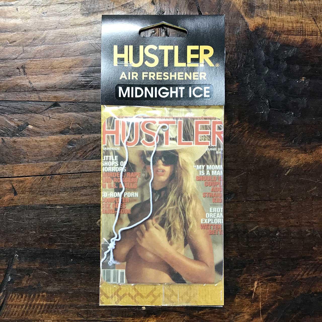 HUSTLERセクシーガールエアフレッシュナー・芳香剤・ミッドナイトアイス(ブラックアイス風)1994-06