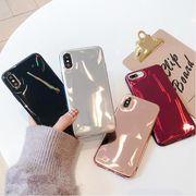メタリック 光沢 iPhoneX ケース iPhone 7/8 iPhoneXS Max XR