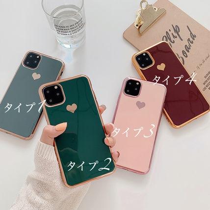 ハート ゴールド フレーム 7 8 X 8p XR 6 iphone11 11pro ProMax