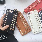 iPhonexs iPhone8plus iPhoneX iPhone8 ケース スタッズ ベルト