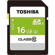 東芝 SDHCカード16GBクラス10 SDAR40N16G