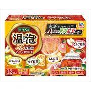 温泡 ONPO とろり炭酸湯 ぜいたく果実紅茶 12錠入 【 アース製薬 】 【 入浴剤 】