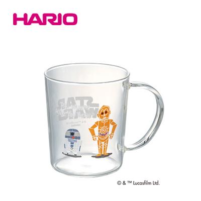 「公式」スター・ウォーズ R2-D2&C-3PO/マグ HARIO(ハリオ)