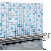 アルミ壁紙シート モザイク45×75