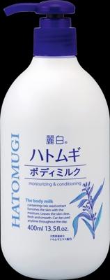 麗白 ハトムギボディミルク 【 熊野油脂 】 【 ボディクリーム・ローション 】