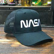 NASA公認 OTTO(オットー)スナップバック・メッシュキャップ・ロゴタイプ(ワーム)