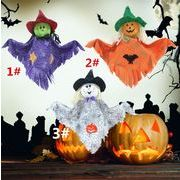 ハロウィン 掛け物 バー KTV 門札 かぼちゃ コウモリ 稲作人 人形 掛け飾 道具 ドアがかかる