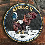 NASA公認ワッペン・アップリケ・アポロ11号