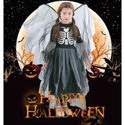 ハロウィン衣装 子供用 魔女 精霊 翼あり コスチューム ハロウィン キッズ服