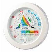 環境管理温・湿度計「熱中症注意」