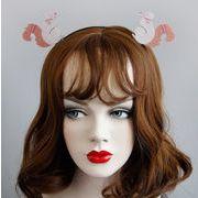 コスプレ 髪飾り リス クリスマス 仮面舞踏会 ハロウィン 仮装パーティ 宴会