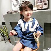 新登場!★秋新しいセットアップ★キッズファッション★ワンピース