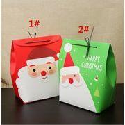 クリスマスプレゼント ギフトボックス 平安夜 りんごの包装箱 クリスマス·バッグ 紙箱