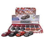 <ミニカー>KiNSMART ミニカー 1:36 ランボルギーニ ヴェネーノ 4色アソート No.201-673
