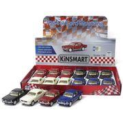 <ミニカー>KiNSMART ミニカー 1:36 フォード マスタング 1964 4色アソート No.201-667