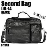 【高級羊革贅沢使用】 DITRAIL(ダイトレイル)羊革2WAYセカンドバッグ