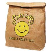 【レジャー・ピクニック】 紙袋風ポーチ/SMILING