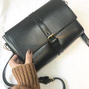 新作レディースバッグ シンプル 合皮 内ポケット有り ショルダーバッグ トレンド鞄