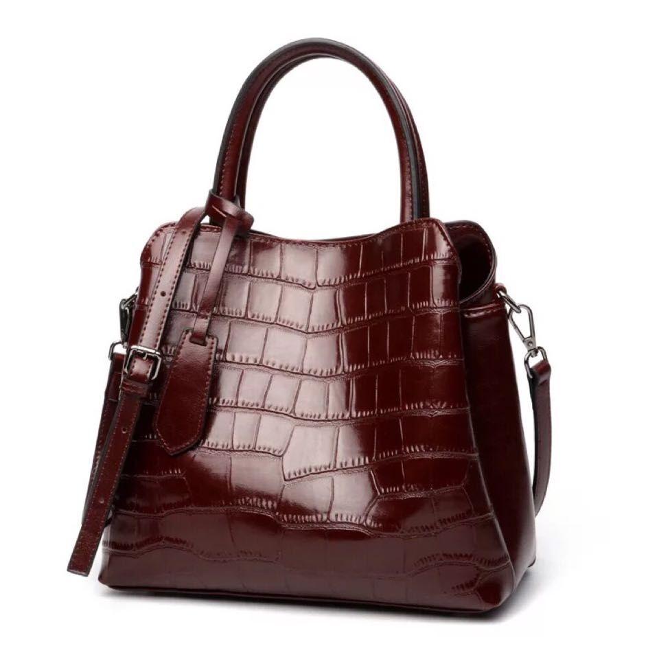 牛革 ハンドバッグ レディースバッグ  鞄 本革 フォーマル カジュアル レザー 革 バッグ ショルダー付き