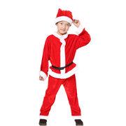 サンタ コスチューム キッズ コスプレ 衣装 子供 サンタクロース クリスマス ジュニア 男の子
