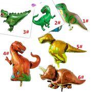 新品 アニメのスタイル 緑の覇王竜 恐竜 風船 子供の誕生日 部屋の装飾 アルミニウム膜風船
