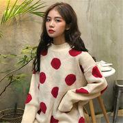 韓国 スタイル ファッション 秋 冬 スタイル ファッション レディース トップス