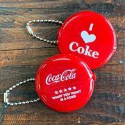 コカ・コーラ・コインケース・小銭入れ・ラウンド