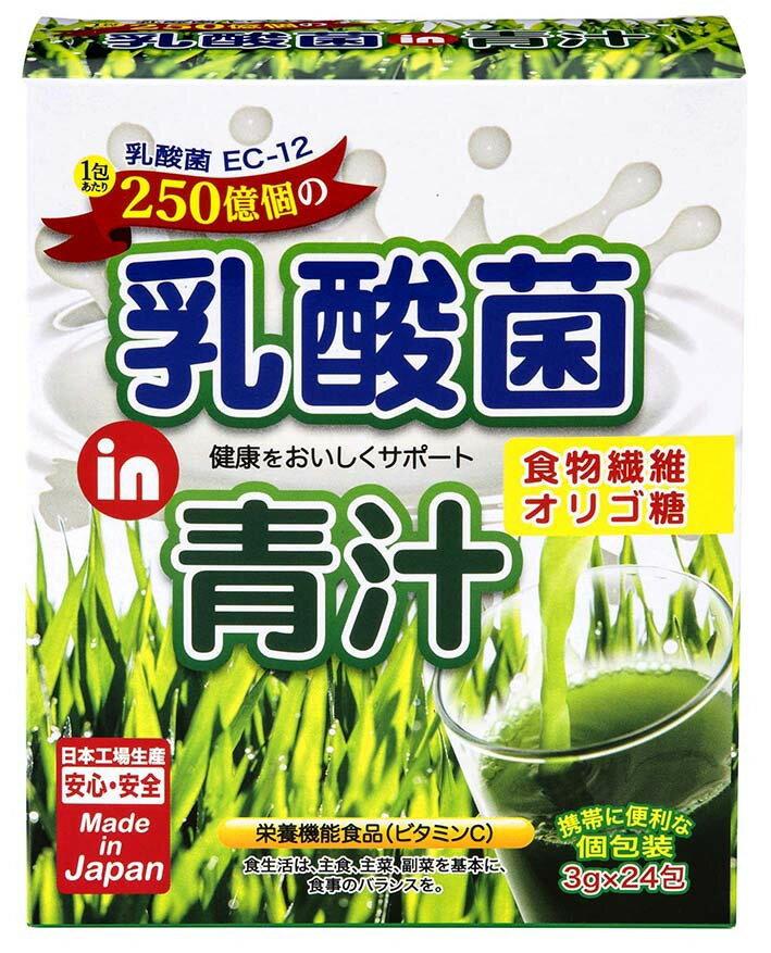 乳酸菌IN青汁 24本 箱/ケース 48入