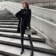 Fashions←♫限定発売♫ 韓国ファッション   CHIC気質  スリム  中・長セクション  ウールコート